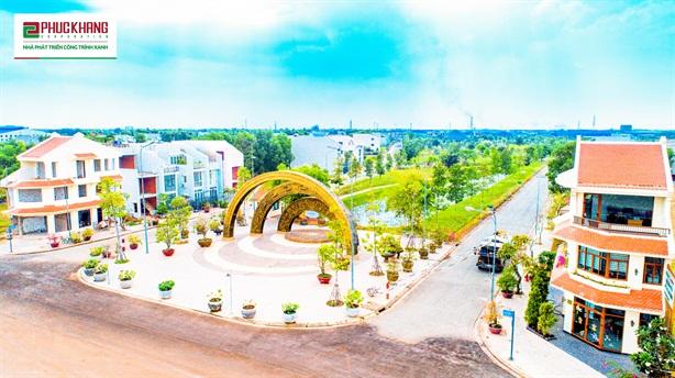 Làng Sen Việt Nam:Khu đô thị xanh kiểu mẫu tại Long An