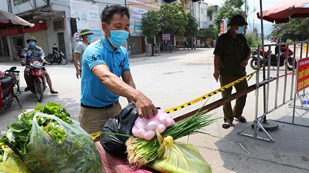 Cách ly 6.000 công nhân Cty Hosiden, Bắc Giang xin chi viện