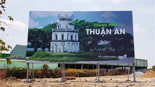 Bình Dương phạt Dự án Hồ Gươm Xanh Thuận An City