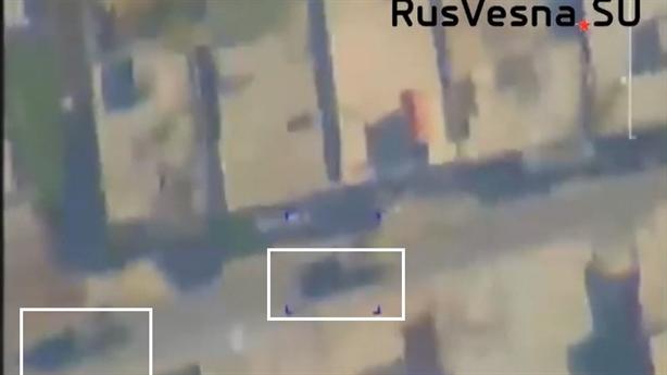 UAV Nga 'tóm sống' Thổ điều T-155 đến Idlib