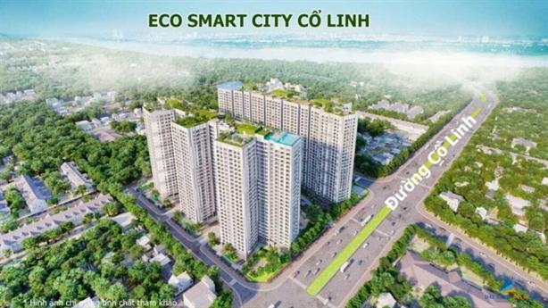 Eco Smart City Cổ Linh chưa được cấp giấy phép xây dựng
