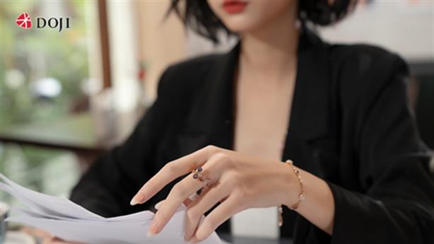 Trang sức kim cương cao cấp của DOJI say lòng phái đẹp