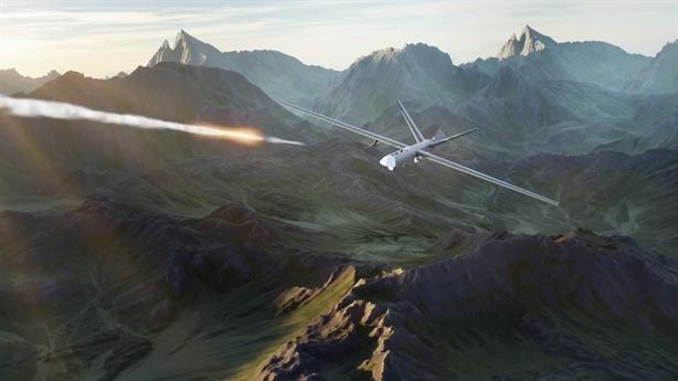Mô hình ACE Ukraine giả định đánh chặn Orion, T-90