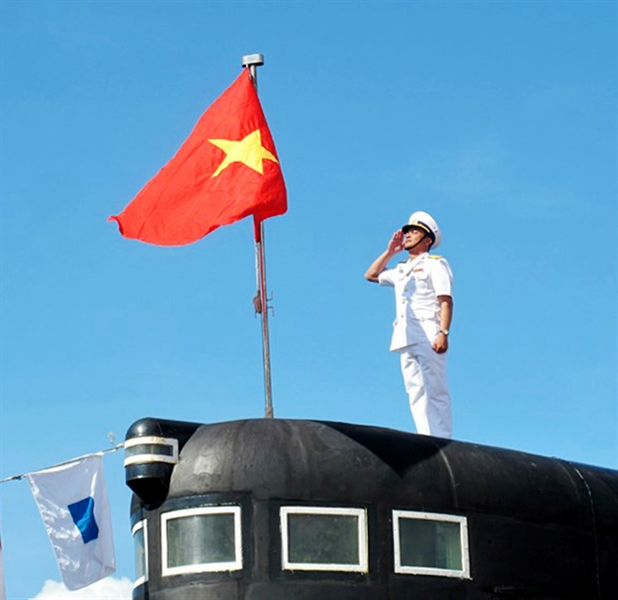 Tròn 10 năm xây dựng và trưởng thành, các thế hệ cán bộ, thủy thủ Lữ đoàn Tàu ngầm 189 đã vun đắp nên truyền thống \