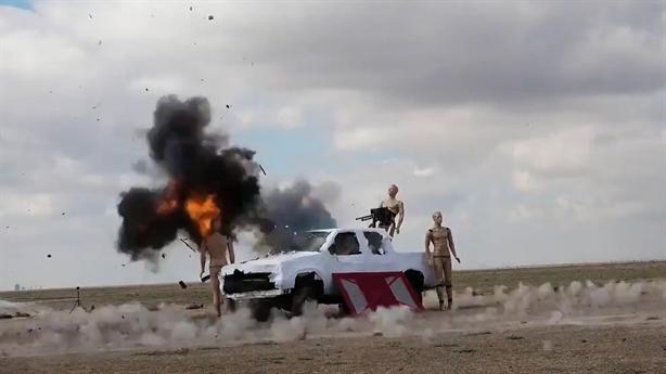 Cận cảnh đòn hiểm từ UAV bỏ túi của Thổ