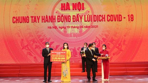 Sun Group ủng hộ Hà Nội 55 tỷ mua vắc-xin phòng Covid-19
