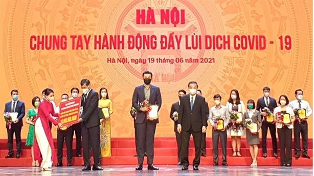 Tân Hoàng Minh ủng hộ 20tỷ đồng, cùng Hà Nội thắng Covid–19