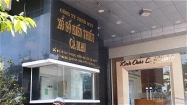 Người lạ chuyển tiền vào Công ty xổ số Cà Mau