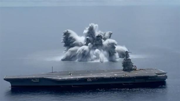 Chỉ Mỹ mới thử tàu sân bay bằng thuốc nổ