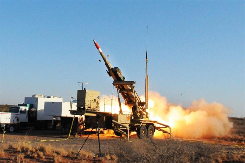 Trong cuộc thử nghiệm trên bệ phóng của hệ thống phòng không Patriot, hai tên lửa dẫn đường phòng không đã được lắp đặt, được thiết kế để tiêu diệt tên lửa đạn đạo chiến thuật. Nó được mô phỏng theo tên lửa mục tiêu Black Dagger Zombie.
