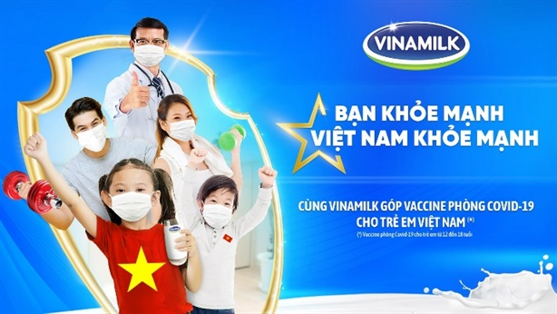 Vinamilk khởi động chiến dịch 'bạn khỏe mạnh, Việt Nam khỏe mạnh'