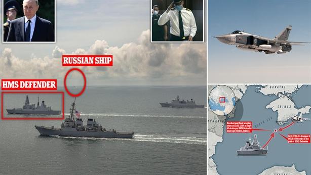 Vì sao khu trục hạm Anh nắn gân Nga?