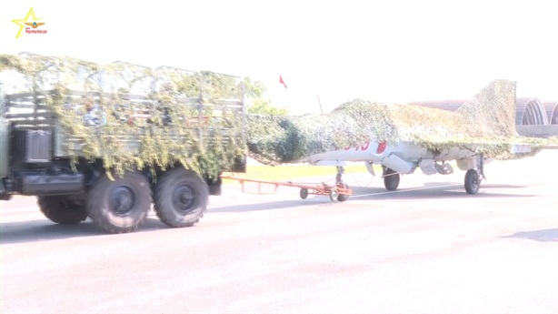 Phòng không-Không quân Việt Nam diễn tập chuyển trạng thái chiến đấu