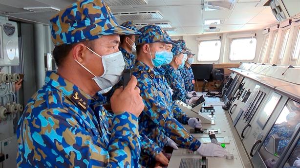 Chiến hạm Việt Nam bắn sát hạch, sẵn sàng dự Army Games-2021