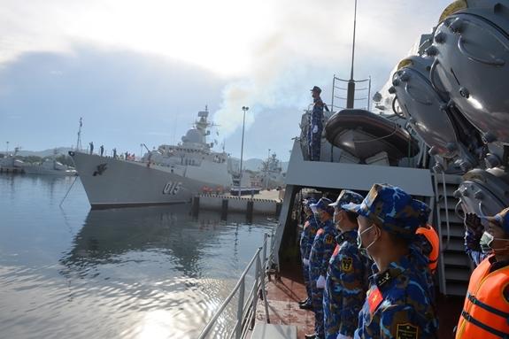 Tờ Quân đội Nhân dân đưa tin, chuyến đi nhằm củng cố và tăng cường mối quan hệ hữu nghị truyền thống, đối tác chiến lược toàn diện Việt Nam-LB Nga, cũng như mối quan hệ hợp tác tốt đẹp giữa quân đội hai nước nói chung và hải quân hai nước nói riêng.
