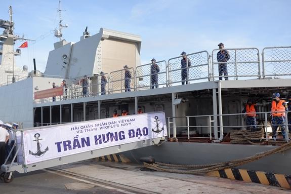 Theo kế hoạch, Biên đội tàu 015, 016 sẽ tham gia các hoạt động duyệt binh tàu hải quân và thi đấu các nội dung của môn thi \