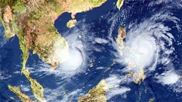 Xuất hiện vùng áp thấp gây thời tiết xấu trên Biển Đông