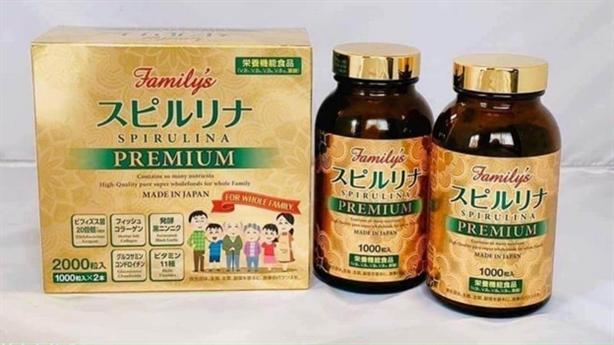 Tảo xoắn Spirulina Nhật chính hãng-cách phân biệt hàng thật, hàng giả
