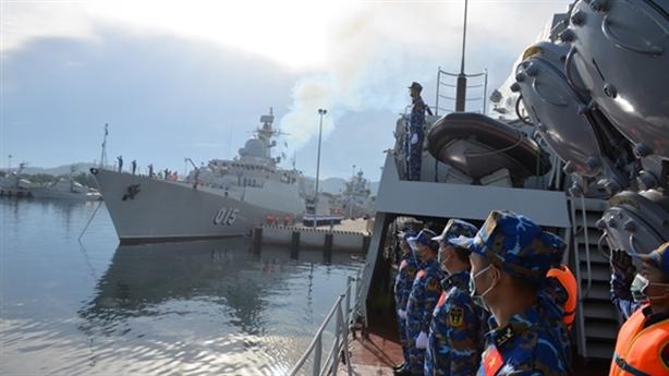 Chiến hạm Gepard Việt Nam đến Vladivostok