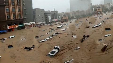 Lý do mưa lũ nghìn năm có một ở Trung Quốc?