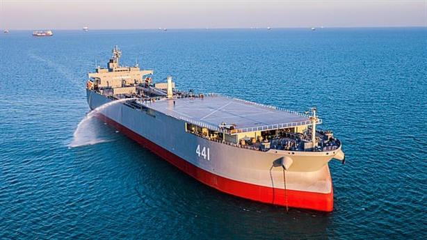 Lý do tàu Iran bất ngờ xuất hiện trên Baltic
