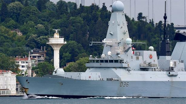 Bộ trưởng Anh: Chỉ mình HMS Defender còn có thể hoạt động