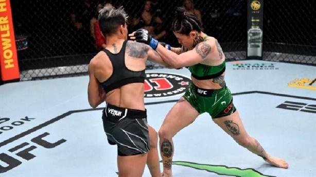 Đả nữ tung loạt đòn hạ đối thủ nhanh gọn