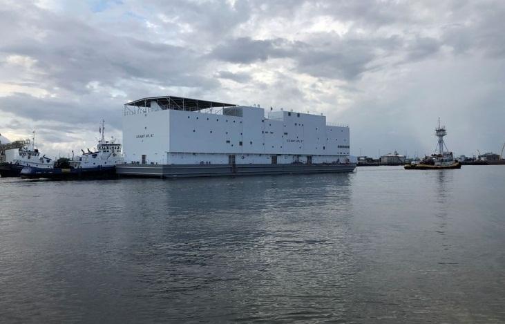 Chiếc tàu APL 67 được thiết kế để tạm thời chứa các tàu Hải quân Mỹ khác trong quá trình sửa chữa hoặc bảo dưỡng phức tạp.