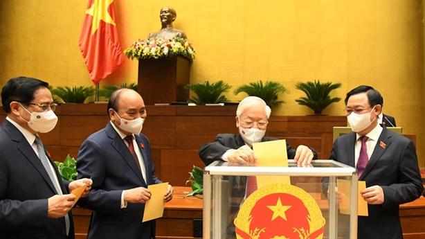 Chủ tịch nước Nguyễn Xuân Phúc tái cử, tuyên thệ nhậm chức