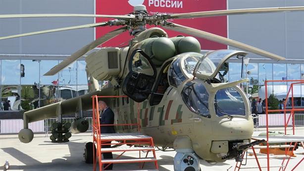 Trực thăng bọc thép Nga miễn nhiễm với đạn pháo