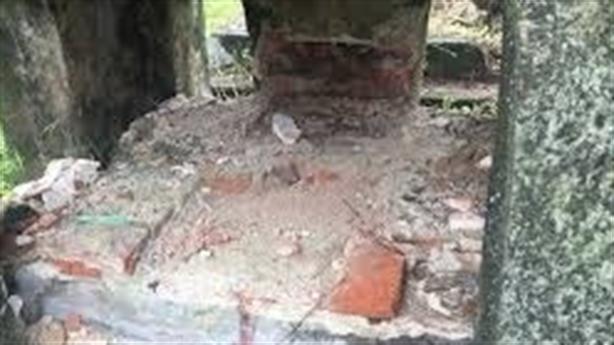 Đập hai ngôi mộ với giá nửa tỷ đồng: Đập 3 lần/tháng