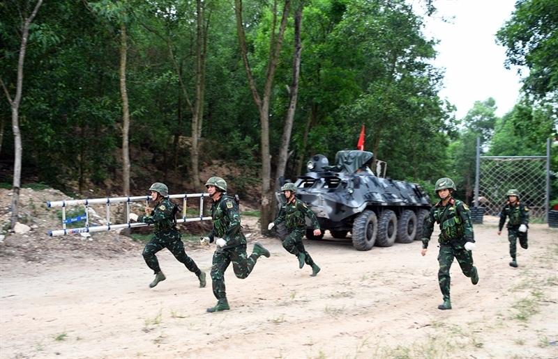 Tại Army Games 2021, tuyển Công binh Việt Nam hạ quyết tâm đổi màu huy chương trong lần thứ 3 tham dự giải đấu quân sự danh giá này.