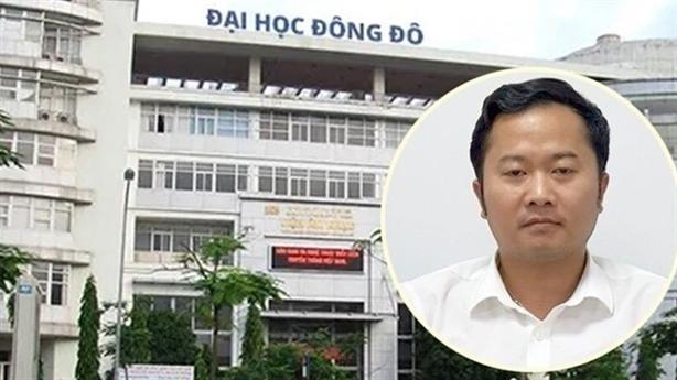 Thủ đoạn làm bằng giả của cựu lãnh đạo ĐH Đông Đô