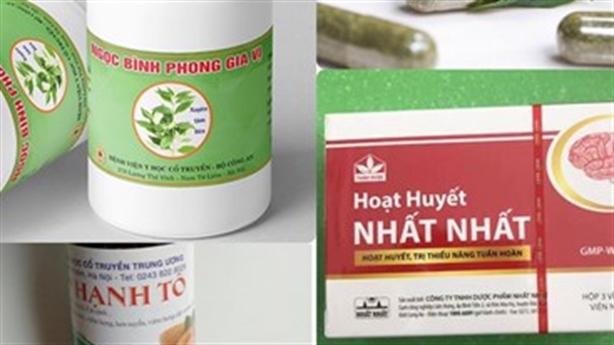 Yêu cầu kiểm điểm vụ 12 loại thuốc hỗ trợ chữa COVID-19