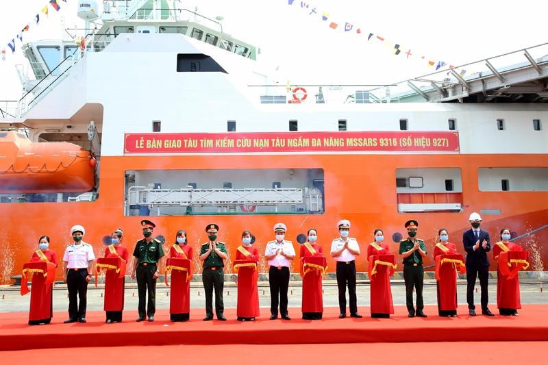Tàu đã được Hội đồng nghiệm thu Bộ Quốc phòng và Quân chủng Hải quân nghiệm thu kỹ thuật, nghiệm thu trên biển, kết luận đạt yêu cầu kỹ thuật, đủ điều kiện xuất xưởng, bàn giao và đưa vào hoạt động.
