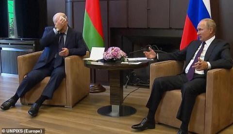 Những thông điệp của Tổng thống Lukashenko gửi ông Putin