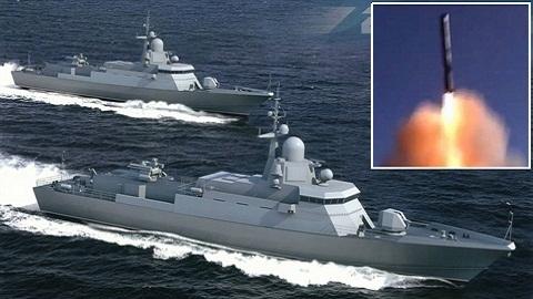 Hạm đội Baltic: Đừng thấy nhỏ tưởng yếu!