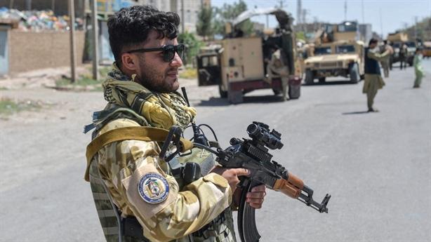 Cuộc chiến ở sân bay Afghanistan