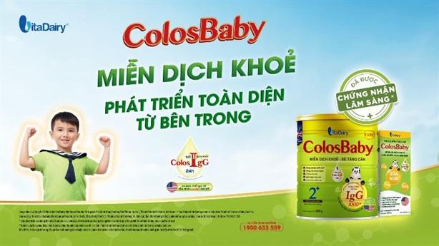 Colosbaby Gold giúp tăng miễn dịch, giảm nhiễm khuẩn hô hấp