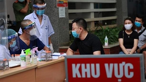 Hà Nội 26 ca; Bệnh viện Đa khoa Thường Tín 1 ca