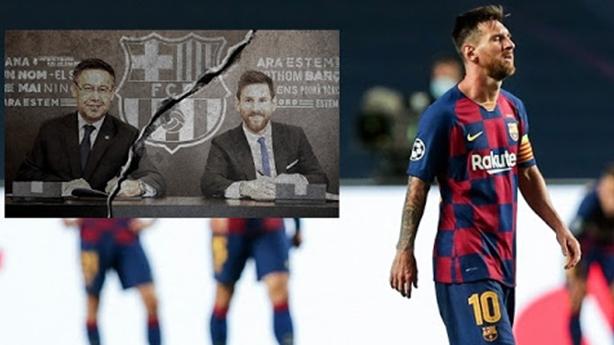 Uẩn khúc sau giọt nước mắt Messi rời Barca