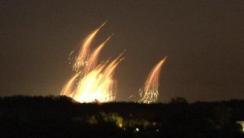 SAA trút gần 100 tên lửa 9M22S xuống phiến quân ở Syria