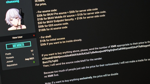 Hacker vụ Bkav giao dịch bằng tiền ảo: Để ngăn nguy cơ...