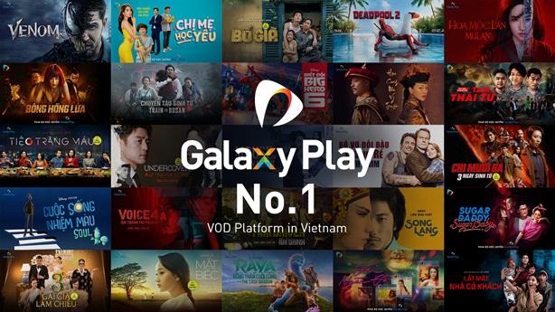 Thỏa thích luyện phim cùng Galaxy Play và ví điện tử ShopeePay