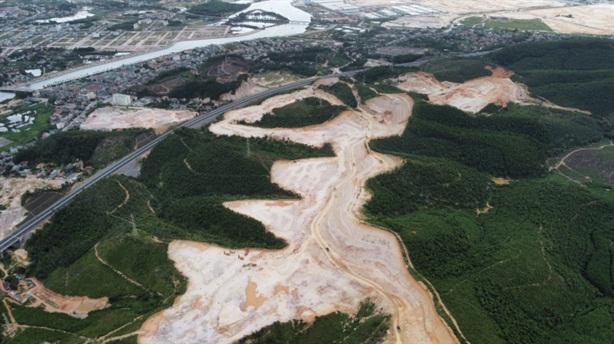 Quảng Ninh phạt nặng một công ty hủy hoại đất