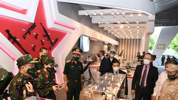 Vũ khí Việt Nam sản xuất gây ấn tượng tại Army Games