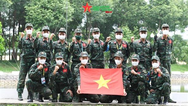 Army Games 2021 tại Việt Nam: Chặng 'Về đích'