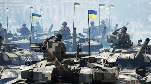 Tướng Ukraine tuyên bố 'cưỡi xe tăng trên Quảng trường Đỏ'