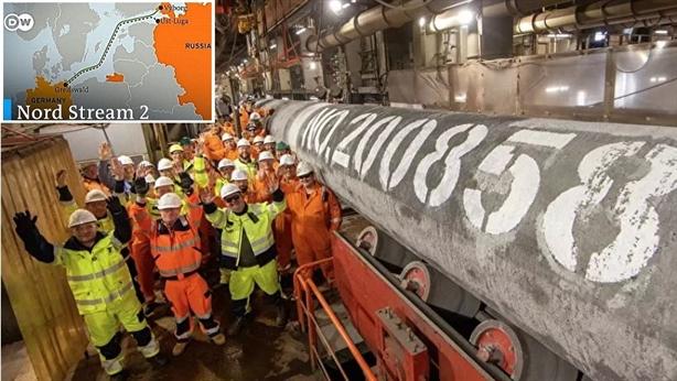 """""""Nord Stream-2"""" đặt xong ống cuối cùng: Không còn gì cản nổi"""