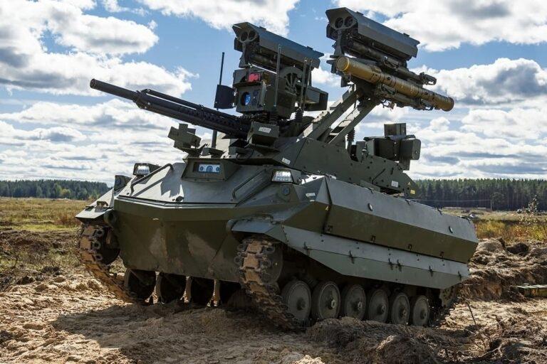 Trong các bài bắn đạn thật, Uran-9 đã trực tiếp chiến đấu trong đội hình các đơn vị phòng thủ, diệt nhân lực và phương tiện bọc thép của đối phương ở khoảng cách từ 3000-5000 mét với hỏa lực từ các hệ thống tên lửa Ataka, súng phun lửa bộ binh, cũng như súng 30 mm và súng máy.